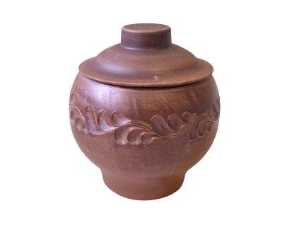 hrnec na pečení keramický 0,6 L.rezny