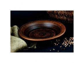 """Keramický talíř  205 mm 0,45 L. """"hladka"""""""
