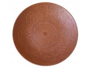 """Keramicka talíř 340 mm """"Dekor v podobě hroznů"""""""