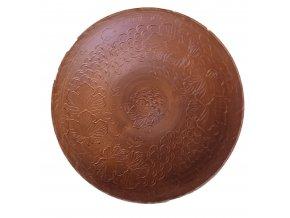 Keramicka talíř 420 mm Dekor v podobě hroznů