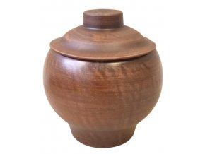 hrnec na pečení keramický 0,6 L.gladka