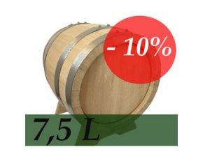 Dubový sud 7.5 l SLEVA 10%