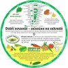 Otočné kolečko: Dobří sousedé - zelenina na zahradě