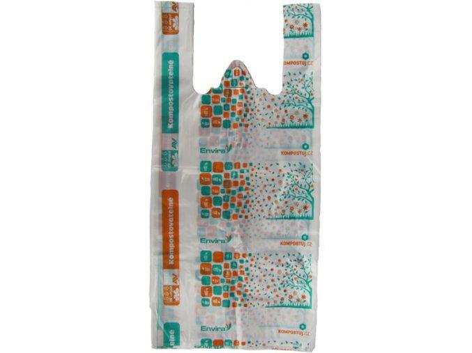 Kompostovatelné tašky KOMPOSTUJ.CZ 10 l (25 ks)