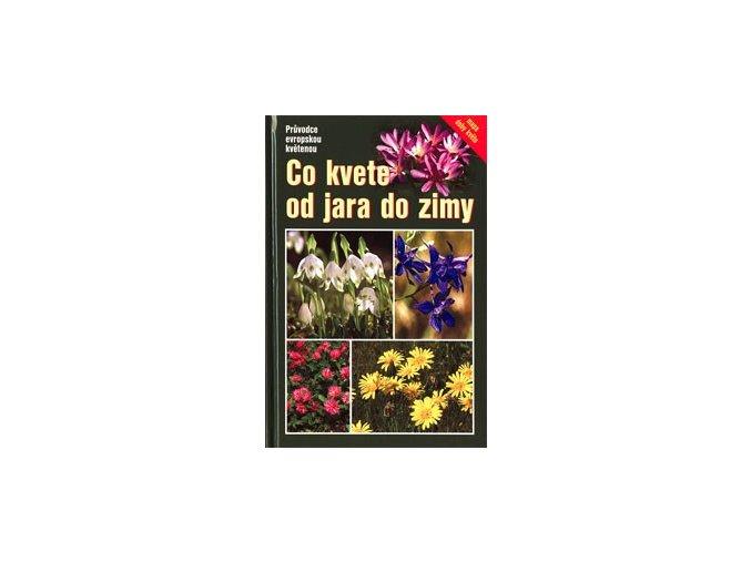 Co kvete od jara do zimy aneb Průvodce evropskou květenou