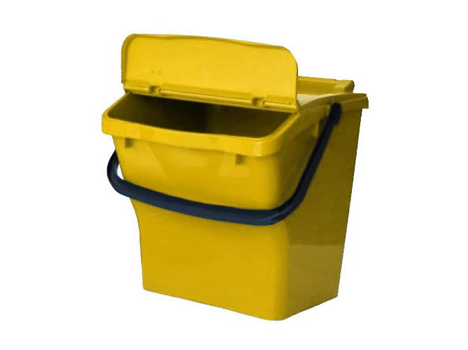 Odpadkový koš URBA PLUS 40l - žlutý