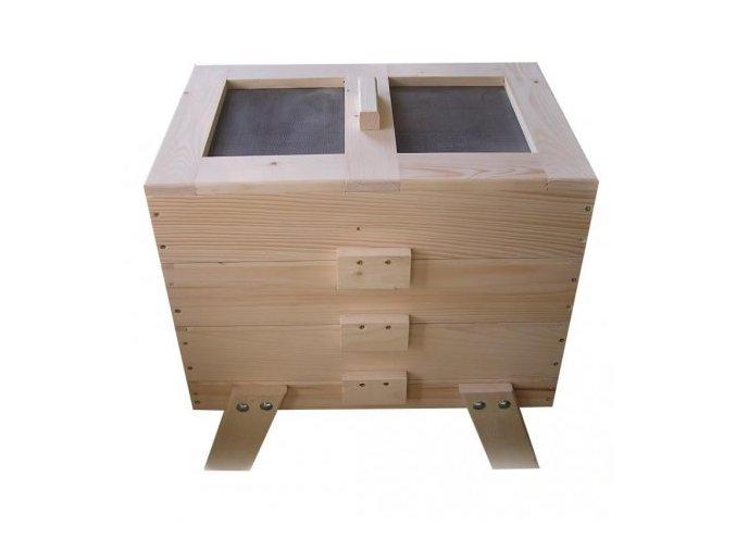 Dřevěný vermikompostér (BEZ povrchové úpravy)