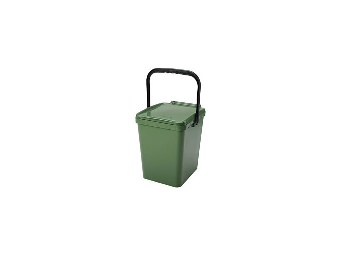 Odpadkový koš URBA 21 l - zelený