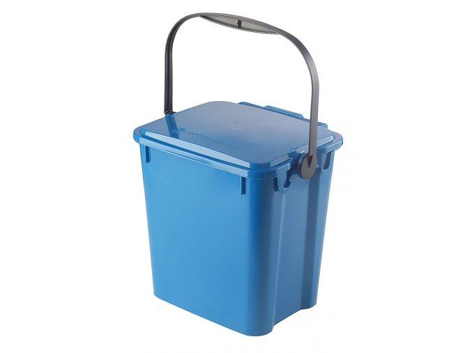 Odpadkový koš URBA 10 l - modrý