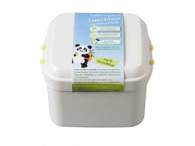 BioBox na jídlo s klipy, 0,6l Biodora
