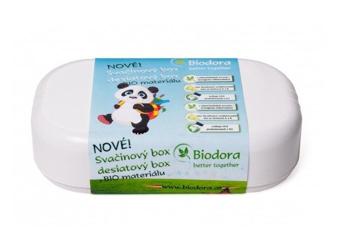 Svačinový box pro děti z bioplastu Biodora