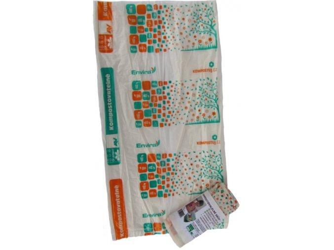 Kompostovatelné sáčky 10l KOMPOSTUJ.CZl (10 ks)