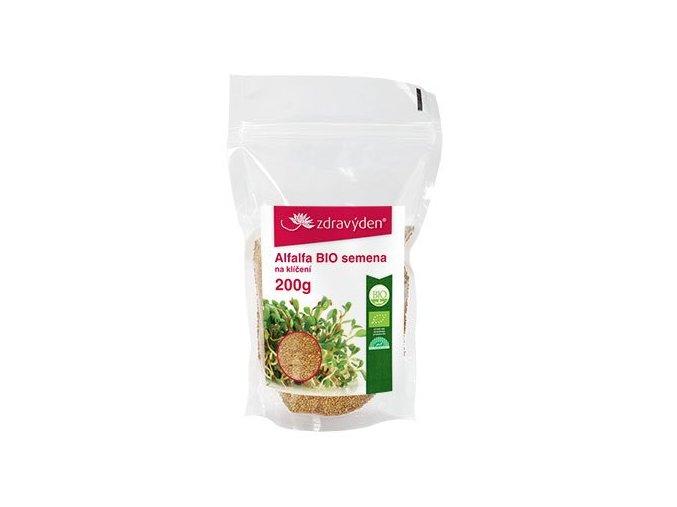 Alfalfa BIO - semena na klíčení 200g
