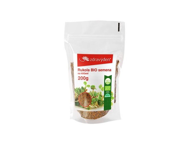 Rukola BIO - semena na klíčení 200g