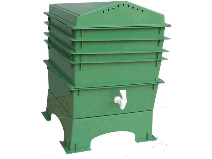 6408 vermikomposter vermihut 5 patrovy svetle zeleny zizaly zdarma.gif