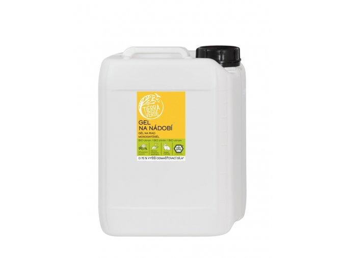 Gel na nádobí BIO citron 5 litrů kanystr