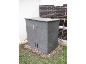 Komunitní kompostér SIVA DUO (pro 10 - 15 domácností)