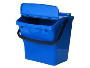Odpadkový koš URBA PLUS 40l - modrý