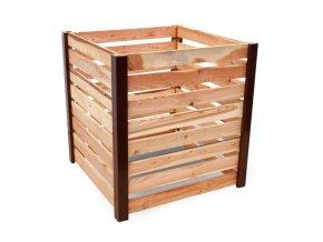 Jednokomorový dřevěný kompostér JERY UNO 1000