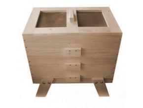 Dřevěný vermikompostér (S povrchovou úpravou)