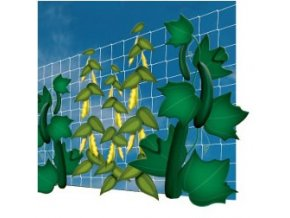 Síť na vertikální pěstování zeleniny a květin