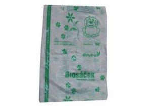 Kompostovatelné sáčky na psí exkrementy (25 ks)