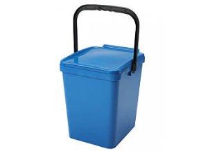 Odpadkový koš URBA 21 l - modrý