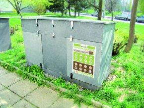 Komunitní kompostér SIVA TRIO (pro 15 - 22 domácností)