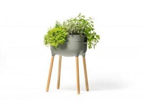 Vysoká pěstební nádoba Urbalive - antracit