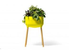 Vysoká pěstební nádoba Urbalive - zelená
