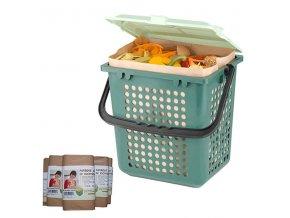 START SET BioMat AirBox® se sadou sáčků z recyklovaného papíru
