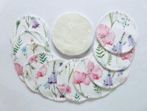 Odličovací tampony - Kytičky (12ks)