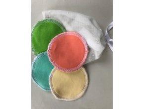 Odličovací tampony - Barvičky (12ks)