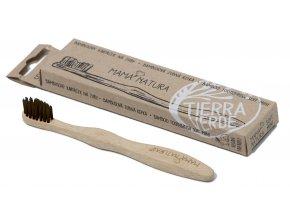 Bambusový kartáček na zuby – soft mini
