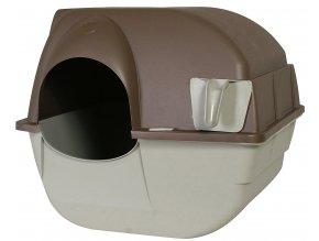 SLEVA! Kočičí samočisticí toaleta OP větší (Large) - poškozený kartón