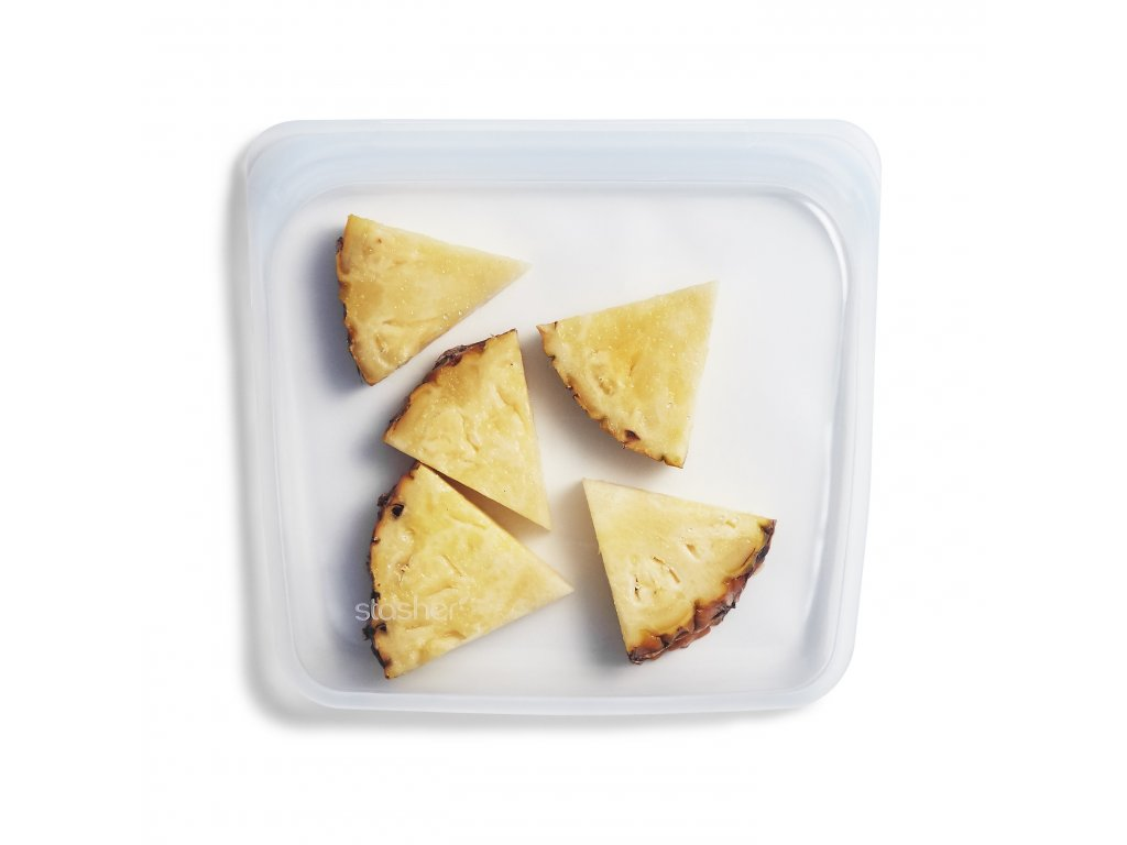 Sandwich Clear PS Pineapple Stasher