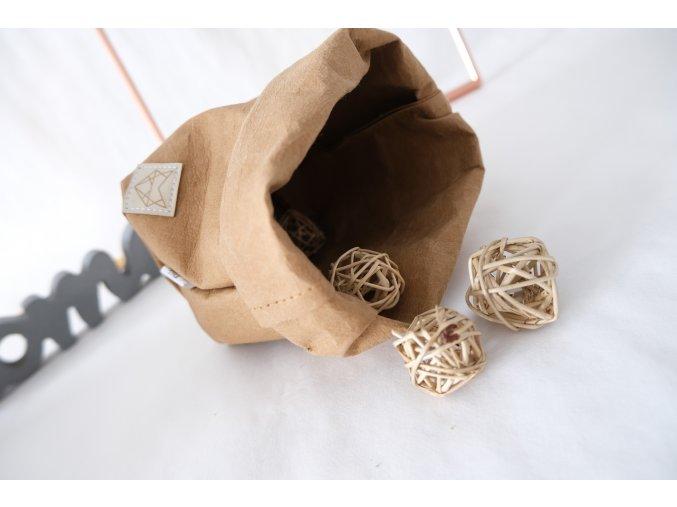 Vrecko z prateľného papira malé Sahara ekonetka