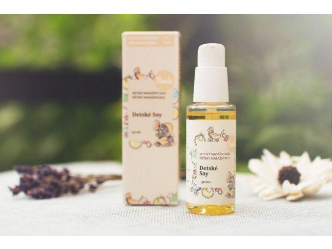 Masážny olej po kúpaní detské sny 50ml navia ekonetka