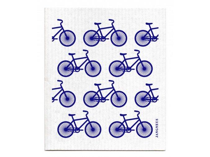 Hubka Jangneus modré bicykle ekonetka