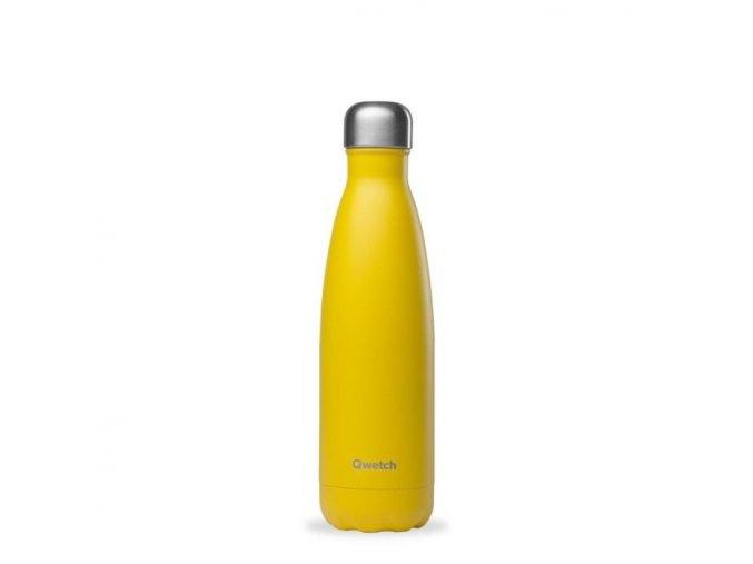 Nerezová termofľaška Qwetch pop yellow 500ml