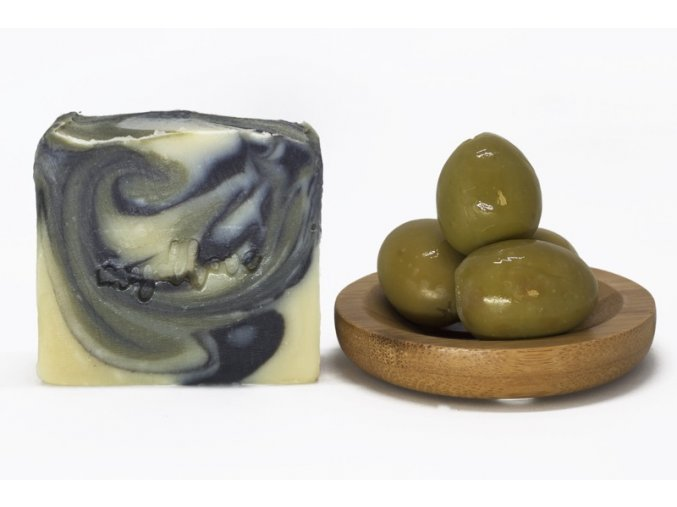 mydlo olivove zelenyil uhlie