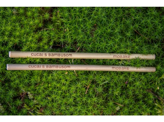 Bambusové slamky Mobake