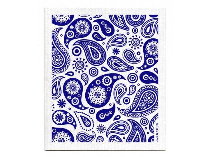 paisley modra jangneus