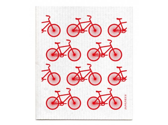 jangneus cervene bicykle