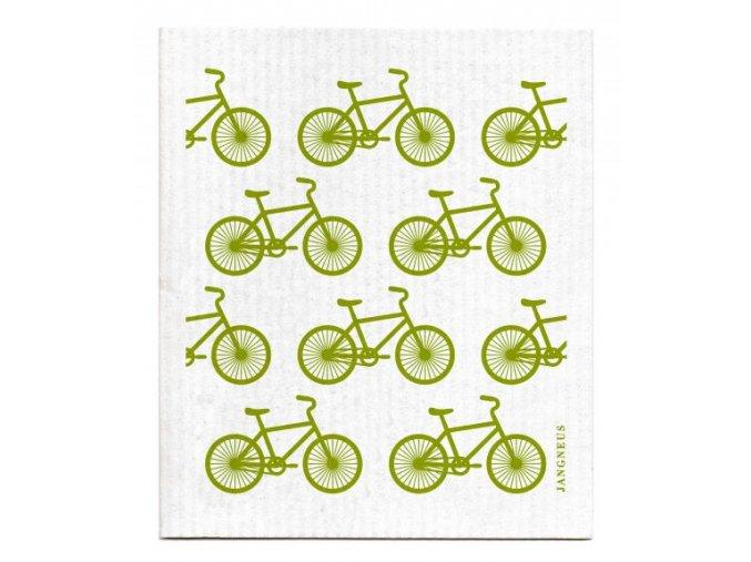 jangneus zelene bicykle