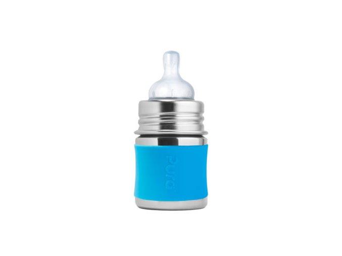 Pura nerezova dojcenska flasa 150ml Aqua 350x350