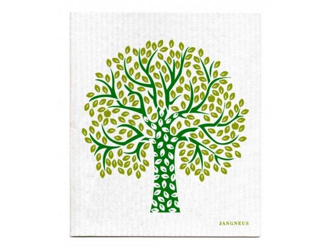 jangneus.com Green Tree Dishcloth LowRes