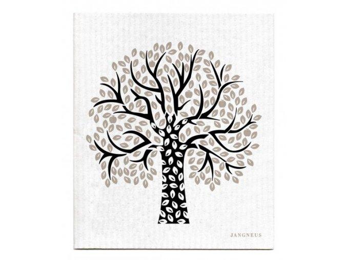 jangneus.com Black Tree Dishcloth LowRes