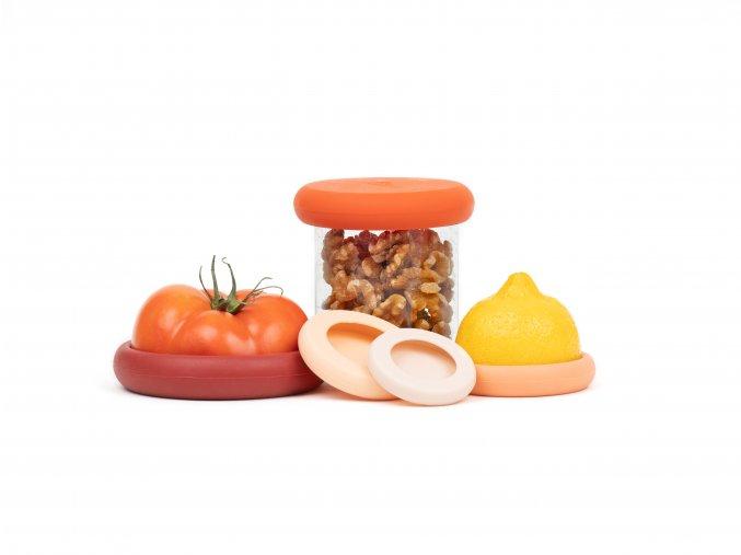 FoodHuggers TerraCotta jar