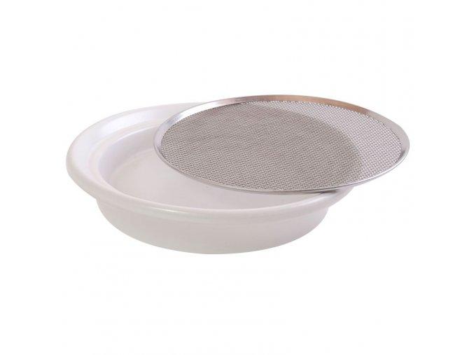 tanierik naklicovaci biely 16cm